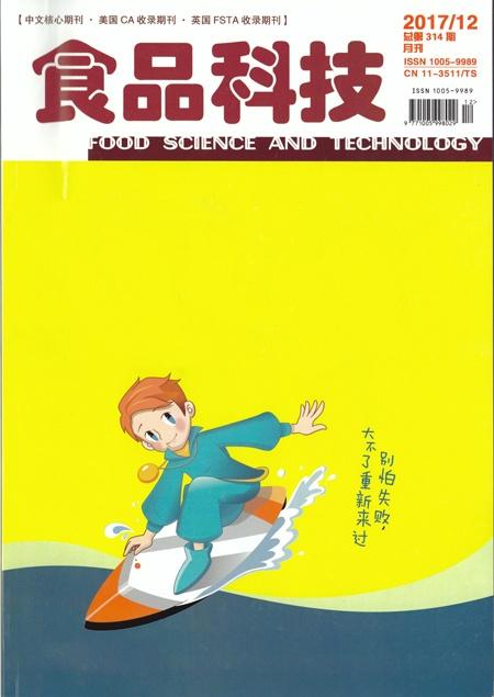 肽度核心专利菌种相关文献收录于重量级期刊《食品科技》
