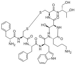 奥曲肽的结构与作用
